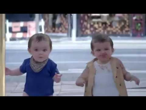 Dancing Evian Babies Video Ming