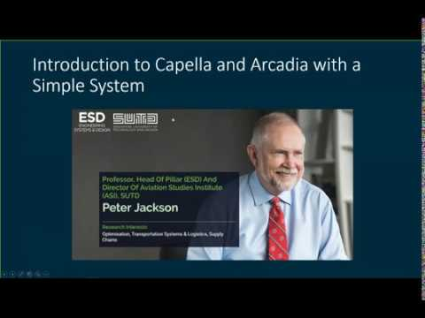 [Webinar] Introduction To Arcadia Capella With A Toy Catapult Project (by Singapore Univ.)