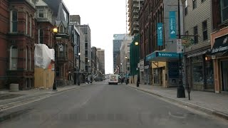 driving around downtown halifax march 19 2017