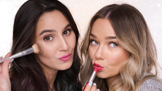 Bronzed Skin, Bold Lip - Chatty Get Ready With Me Ft. Michelle Crossan