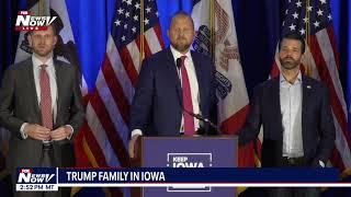 TRUMP FAMILY IN IOWA: Donald Trump Jr. KAG Rally
