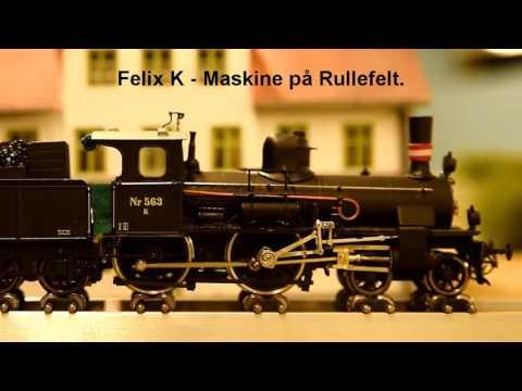 Felix K - Maskine køres til.