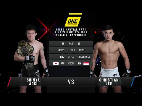 Shinya Aoki vs. Christian Lee | Full Fight Replay