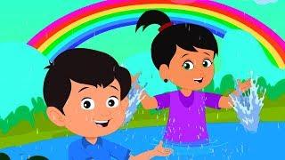 Rim Jhim Rim Jhim Barish Aayi | रिमझिम रिमझिम बारिश आई | Balgeet in Hindi | Kids Rhyme | Hindi Rhyme