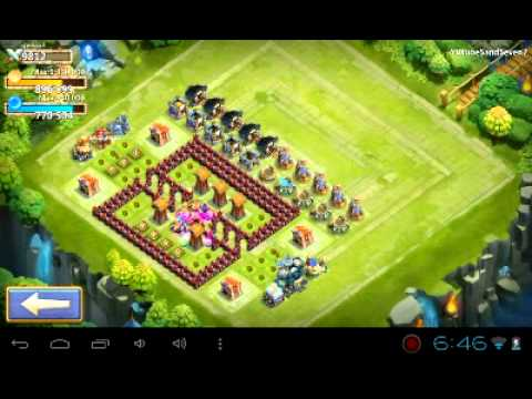 Castle Clash My Update On My Base Townhall 13