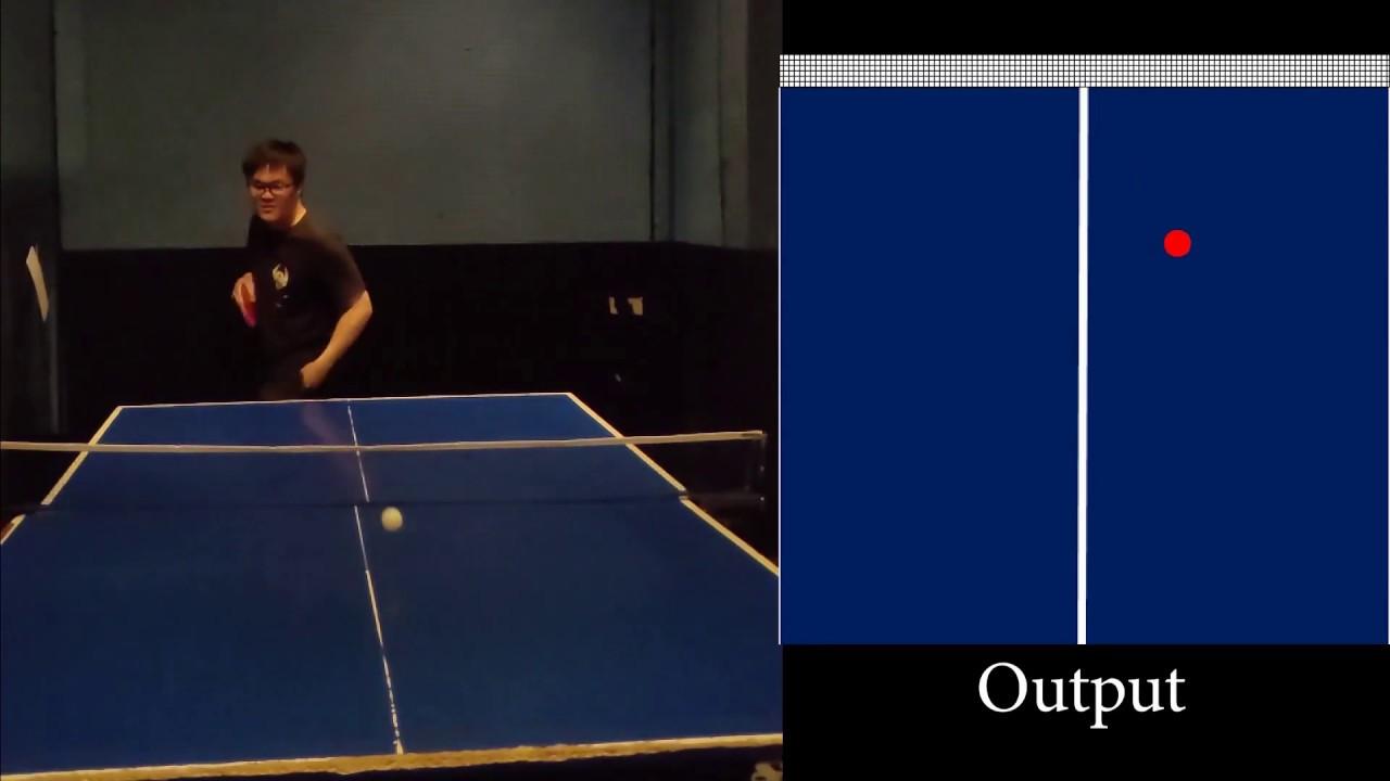 Нейросеть поможет обыграть профессионального игрока в настольный теннис
