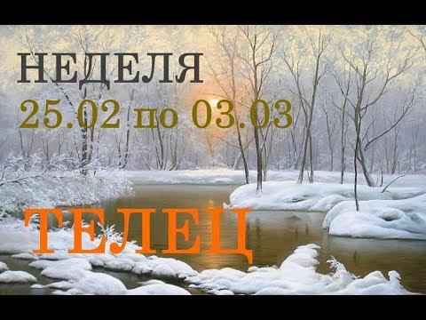 ТЕЛЕЦ. ТАРО-ПРОГНОЗ на НЕДЕЛЮ с 25.02. по 03.03. + СЮРПРИЗ.