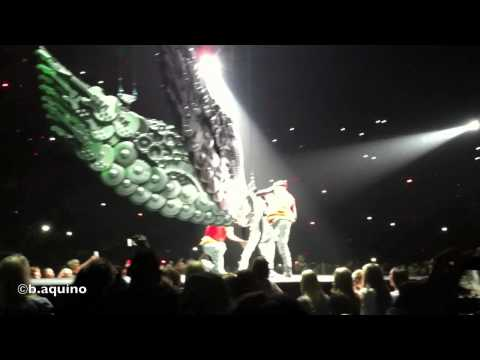 Justin Bieber: Believe Tour Opening - Calgary (ORIGINAL video)