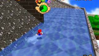 Super Mario 64 - Star Guide #21 Blast Away the Wall