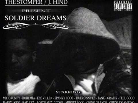 BLAZE IT UP - THE STOMPER (SOLDIER INK) 7 J.HIND FEAT: J.M.G.