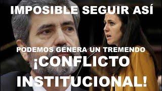 ¡LOS JUECES SE HARTAN DE PODEMOS Y LANZAN UN DURÍSIMO COMUNICADO!