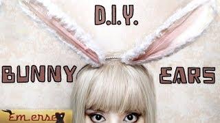 DIY: No-Sew Bunny Ears 🐰(Easy)🐰