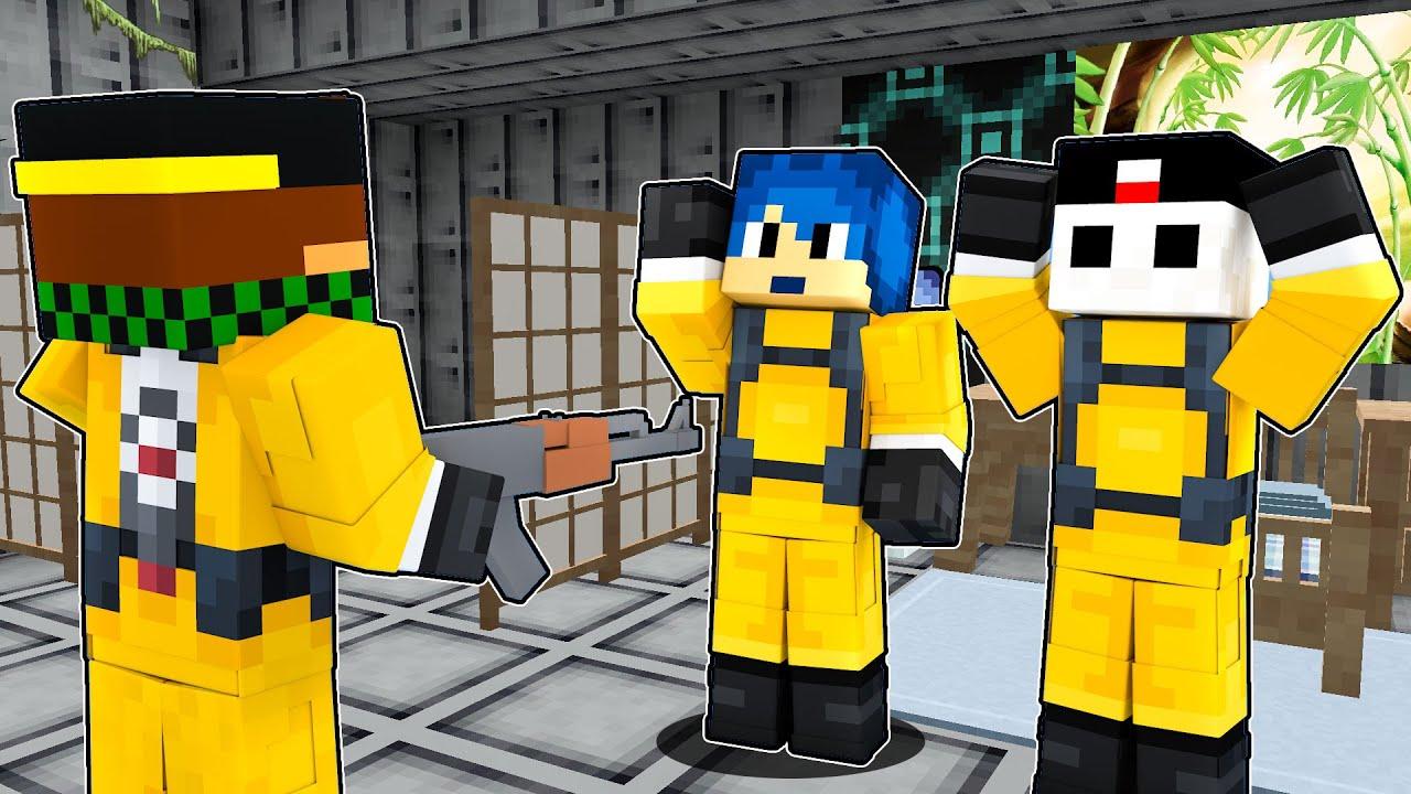 HO RUBATO L'ARMATURA DEI MIEI AMICI YOUTUBER - Apocalisse Minecraft