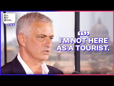 José Mourinho's show at his first press conference with AS Roma | Oh My Goal