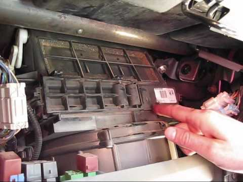 How to change the air and cabin filters in a Honda Element  YouTube