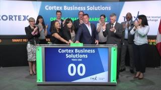Cortex Business Solutions opens TSX Venture Exchange, June 6, 2017