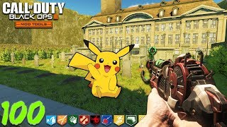 "POKEMON ZOMBIES (they killed me) - BLACK OPS 3 ""CUSTOM ZOMBIES"" MAP! (Call of Duty Zombie Mods)"