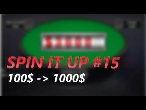 Spin IT UP #15 - 76$ von 1000$ ⇒ So schnell es geht Geld verdienen! (GER / Poker)