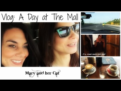 Vlog: A Day at the Mall | Mary and her Cat