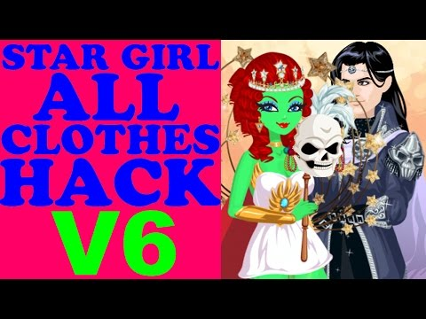 STAR GIRL ALL CLOTHES HACK V6/ВзломВсехВещей/所有的衣服哈克/すべての服は、ハック(Zodiac Items + Rare)2017