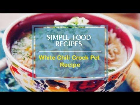 White Chili Crock Pot Recipe