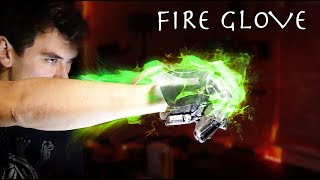 Homemade Green Flame Glove! (Next Level YouTube Boxing)