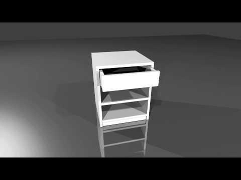Nachtkastje maken zelf een nachtkastje maken van mdf youtube - Een nachtkastje ...