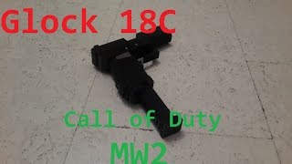 Call of Duty MW2 - Glock 18C