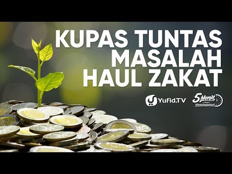 Zakat Mal: Cara Membayar Zakat yang BENAR - Ustadz Ammi Nur Baits, B.A. - 5 Menit yang Menginspirasi