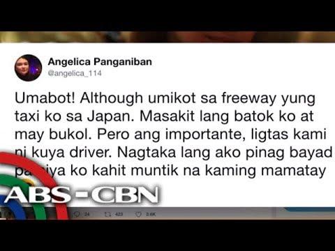 Angelica Panganiban, nakaligtas sa aksidente sa Japan
