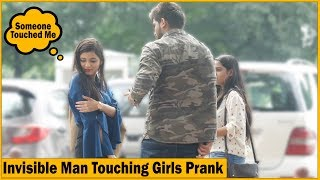 Invisible Man Touching Girls Prank - Ft. High Street Junkies | The HunGama Films