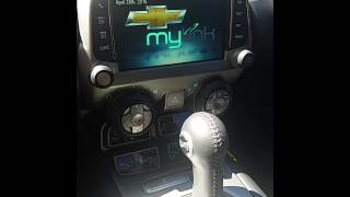 2013 Camaro Mylink video input switching