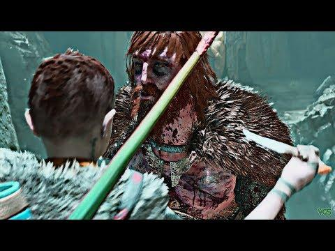 God of War - Atreus Kills Modi in a Rage