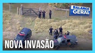 Caçada a Lázaro: polícia faz buscas em região de chácara invadida nesta terça-feira (22)