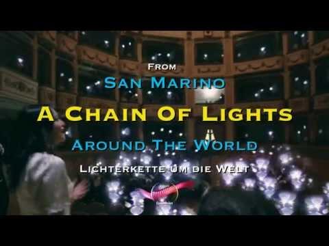 Chain Of Lights Around the World !!!