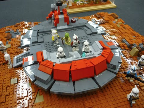 Lego Star Wars MOC Geonosis Battle IDS Interview Part 2 - YouTube