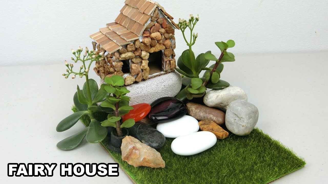 Diy Miniature Fairy House Garden 6 Easy Crafts Ideas Youtube