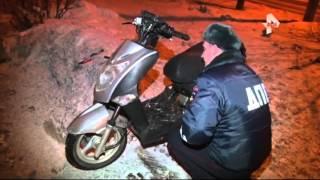 Поїздка на скутері ледь не закінчилася трагічно в Нижегородської області