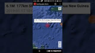 Strongest Earthquake of the Day: January 17th, 2019 Lorengau, Papua New Guinea