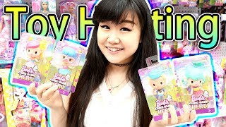 TOY HUNTING & Birthday Gift Shopping for Teagan - New Barbie Vinyl Toys, Blind Bags and MORE!
