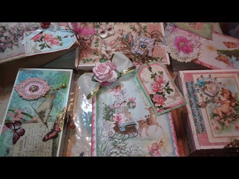 DIY/Altered Brown Paper Bags And Cigar Boxes Gift Giving On A Budget