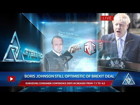 Steve Rich FX – Boris Johnson Still Optimistic of Brexit Deal