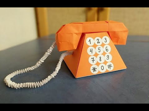 Как сделать оригами телефон