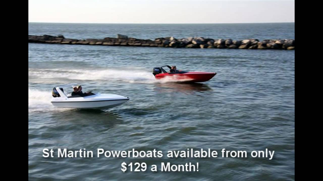 Mini Speed Boats for Sale - St Martin Powerboats