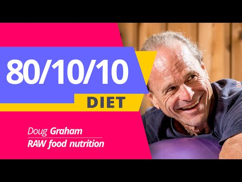 The 80/10/10 diet Doug Graham raw food nutrition