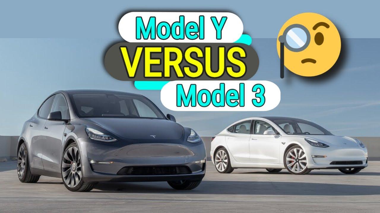 Tesla Model Y - VERSUS MODEL 3 [Performance Variants]