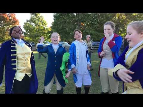 Halloween Hamilton Squad 2016