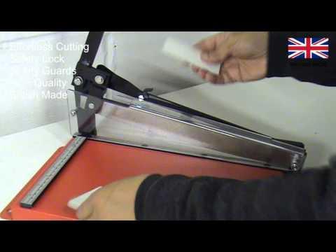 Manual Sheet Metal Cutting Machine. British Made.