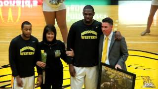 MBB Student Athlete of the Year Kevin Thomas