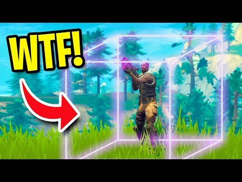 HOW TO BUILD INVISIBLE WALLS AND TROLL PEOPLE! | Fortnite Battle Royale